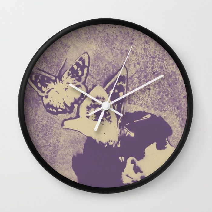 """Long Gone Whisper: Amaranth"" wall clock at @society6  • SHOP: https://society6.com/product/long-gone-whisper-amaranth_wall-clock#s6-4389711p33a33v • #art #painting #portrait #society6 #wallart #homedecor #girl #illustration #butterflies #illustrazione #ritratto #farfalle #clock #wallclock #walldecor #orologi #graffiti #modernart #artforsale #arte #artemoderna #graffitiart #spraypaintart #romantic #surreal #beauty #homedecor #sensual #orologio #sexy #ragazza #female #woman #delicate #girl"