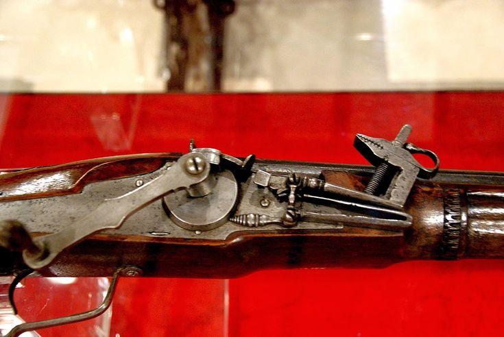 Llave de rueda en arcabuz Museo Histórico Militar de Sevilla,.