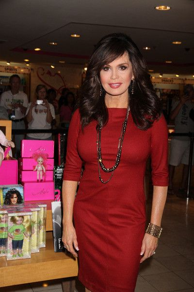 Marie Osmond-Love her hair!