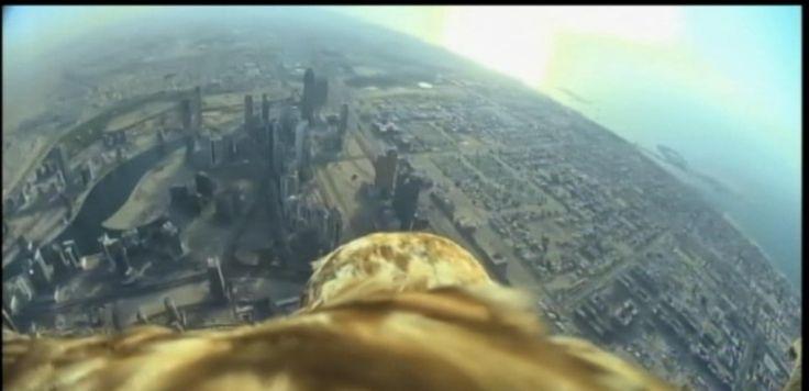 VIDEÓ: Eagles-Eye View From Világok legmagasabb épülete