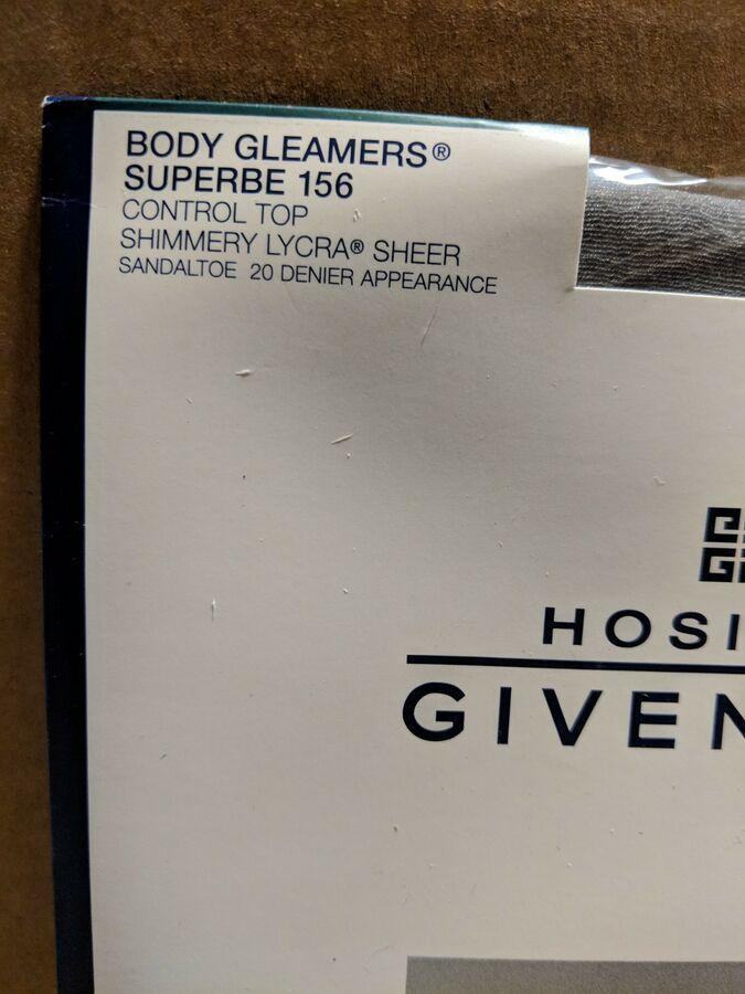 08503ad03ef04 Givenchy Pantyhose Body Gleamers Hosiery. Size C. Color Silver Fox  82217108328 eBay#Gleamers#Hosiery#Body