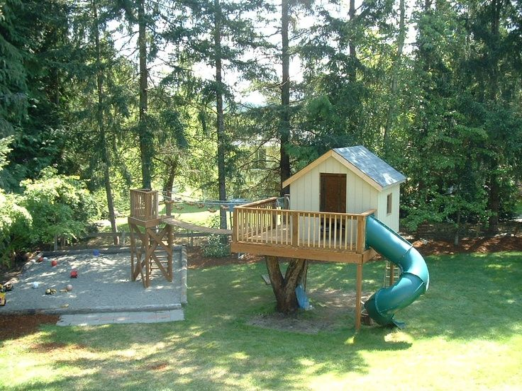 17 best images about play house on pinterest cubby for Simple outdoor playhouse plans
