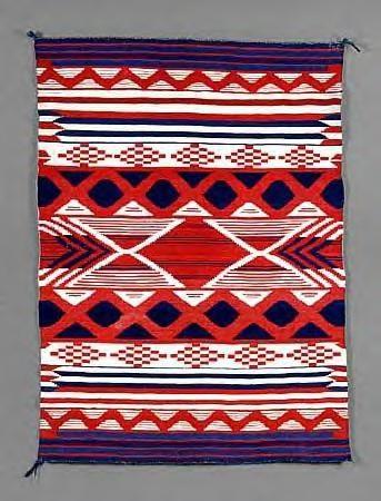 Canku Ota - Mar. 24, 2001 - Designing Weavers - Navajo Blanket