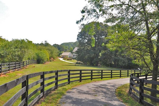 Three Rail Country Fence