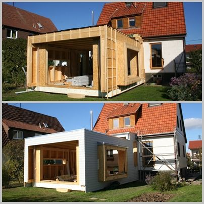 Atemberaubend Holzanbau Haus Anbau 2 in 2019  Holzanbau