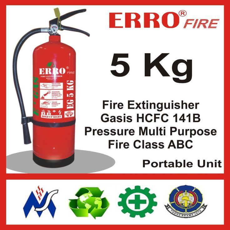 Alat Pemadam Kebakaran Gasis Pengganti Hallon 5 Kg | Tabung Apar