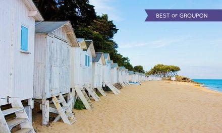 Île de Noirmoutier : 1 ou 2 nuits avec petit déjeuner ou demi-pension, accès balnéo en option à l'Hôtel des Dunes pour 2