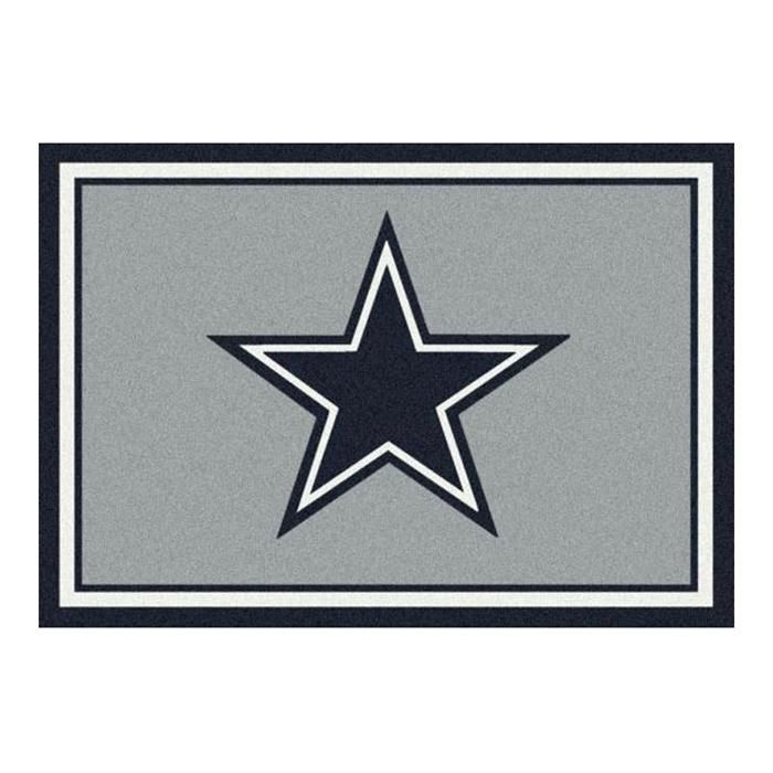 Inexpensive Area Rugs Show your support for the Dallas Cowboys with a beautiful team Spirit Area Rug NFL Football Mat or give it as a gift to the NFL fan in your life