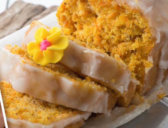 Κέικ+με+καρότο+και+καρύδια+με+υπέροχο+γλάσο