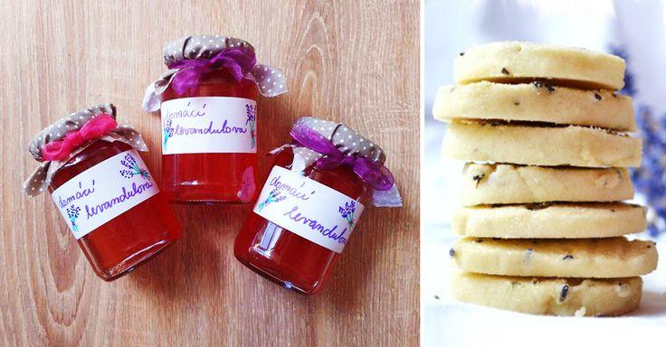 Recept na domácí levandulový sirup a vanilkovo-levandulové sušenky