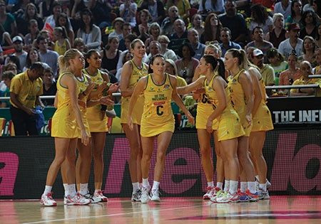 The Australian Diamonds expect a tough showdown with England this week, after losing their first test to the host, @England Netball