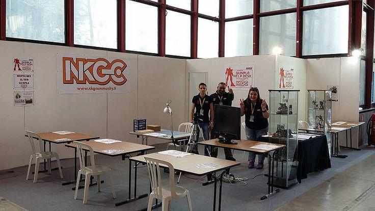 Napoli Comicon 2015 NKGC Stand