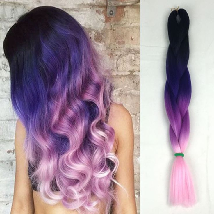 Find More Bulk Hair Information about 10pack/lot Black Purple pink three tone kanekalon jumbo braid hair extensions 24inch Havna Mambo senegalese twist hair crochet,High Quality jumbo braid hair extensions,China braiding hair extensions Suppliers, Cheap hair extension from Splendid Harmony Xtension Hair on Aliexpress.com