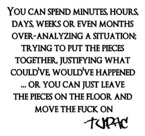 one of my former students turned me on to the words and wisdom of tupac..