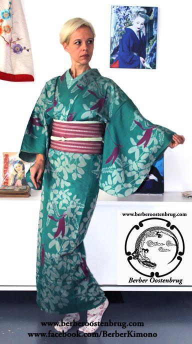 Berber Oostenbrug |Portretten | Glamour Portfolio | Sprookjes & Fantasieën | Vrij Werk | Kimono Styling Dragonfly Meisen Kimono Berber Oostenbrug Kimono Styling