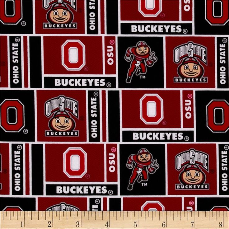 Collegiate Cotton Broadcloth The Ohio State University