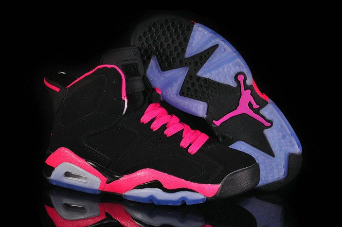 Authentic Air Jordan 6 Retro Pink Black NikeVAPORMAX.ORG