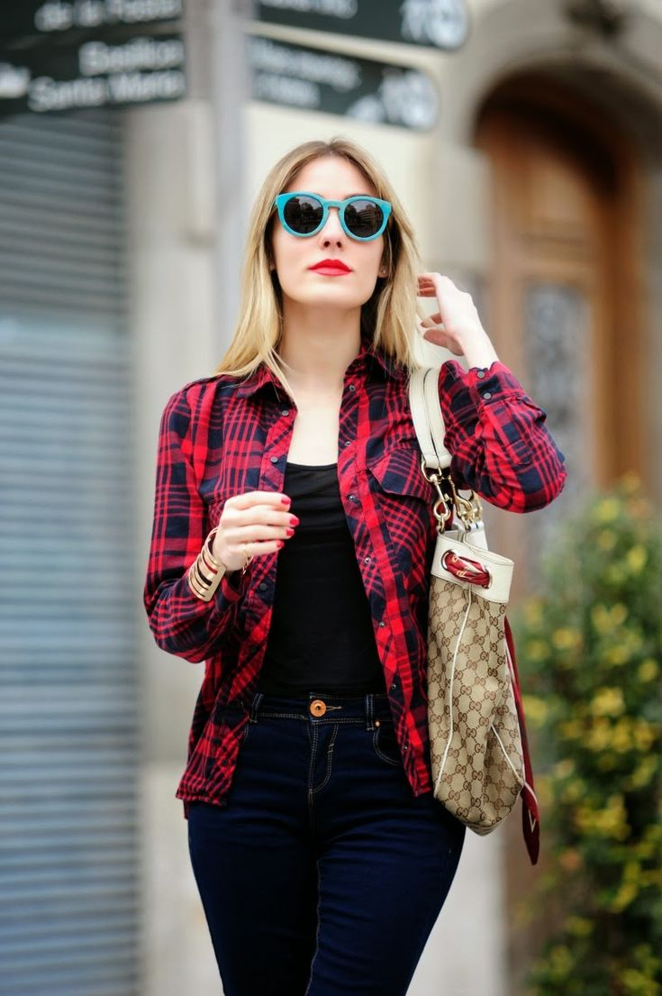 17 Best images about camisas de cuadros outfits on ...