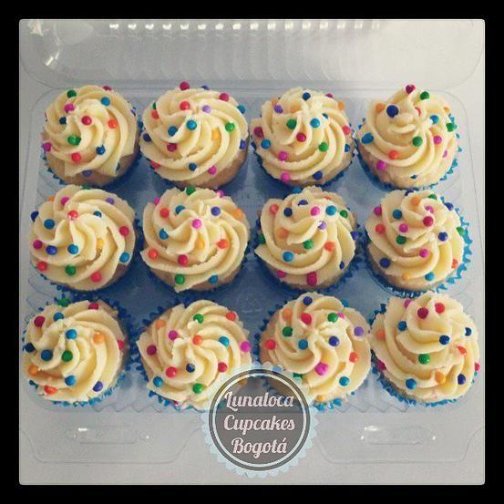 Lunaloca Cupcakes Bogotá, Cupcakes decorados