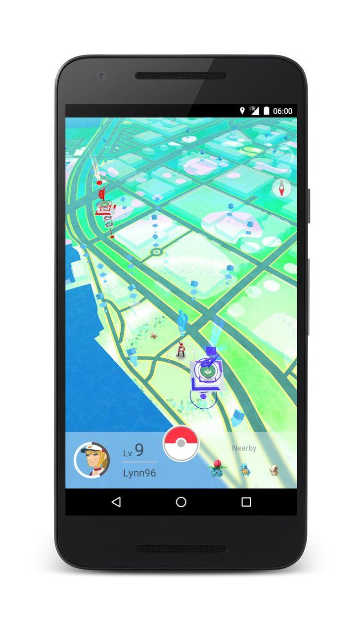 Pokémon Go : premier screenshot officiel et des éléments de gameplay