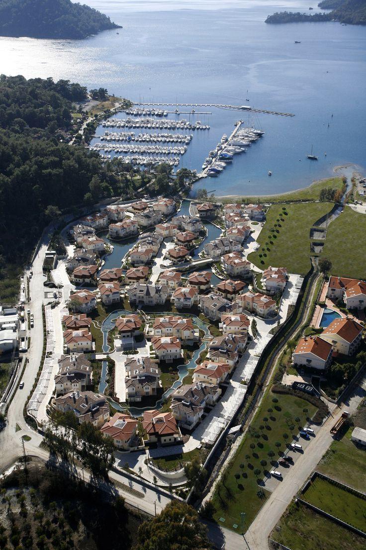 Göcek Marina Portville ,Landscape Architecture,
