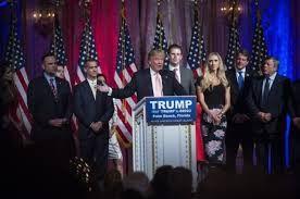 Kalahkan Hillary Clinton Donald Trump Menangkan Pemilihan Presiden Amerika Serikat