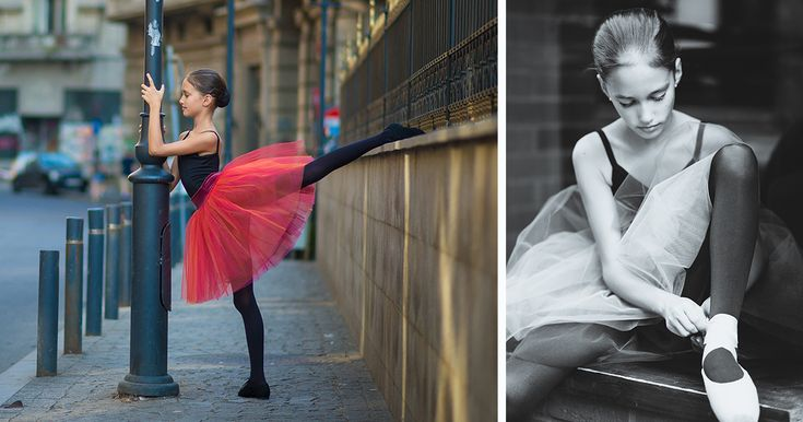 Little Ballerina Shows Her Grace In The Streets Of Bucharest, Romania | Bored Panda