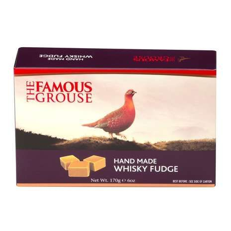 This gift set from The Famous Grouse contains individually wrapped pieces of creamy fudge which features the unique Famous Grouse whisky flavour.
