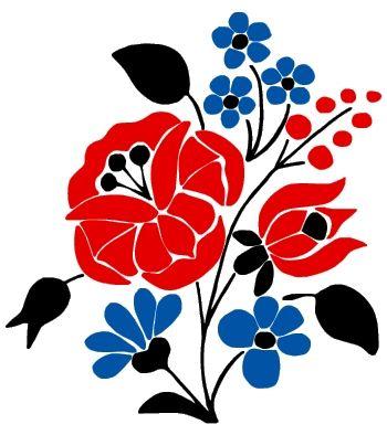 kalocsai virág1 (Eszterce13) póló minta