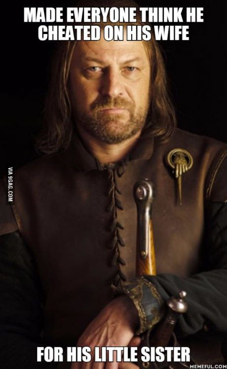 Ned Stark is the real mvp
