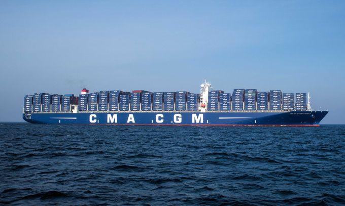 cma-cgm-benjamin-franklin container ship