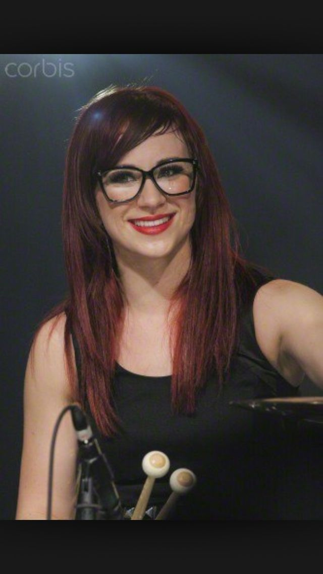Jen ledger! She looks perfect in glasses too!!