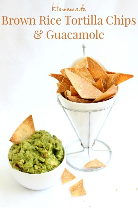 how to cut homemade tortilla chips