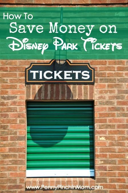 Save Money on Disney Park Tickets: If you are going to Disney, you know how expensive Disney park tickets can be. We've got some ideas to help you save money on the cost your tickets!