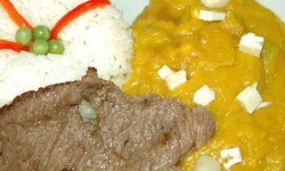 Zamba de Zapallo con Carne y Arroz