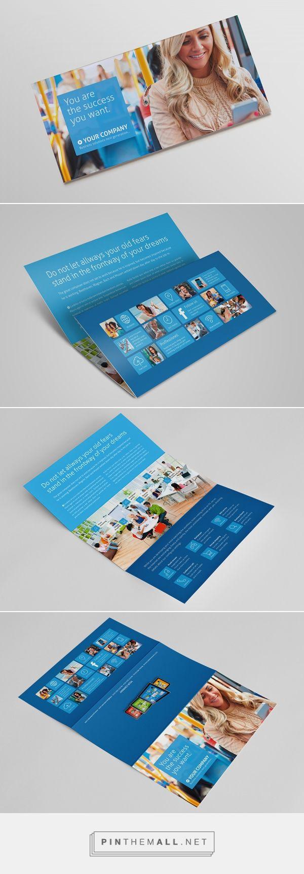 Metro Horizontal Tri-fold Flyer by The Mikinger