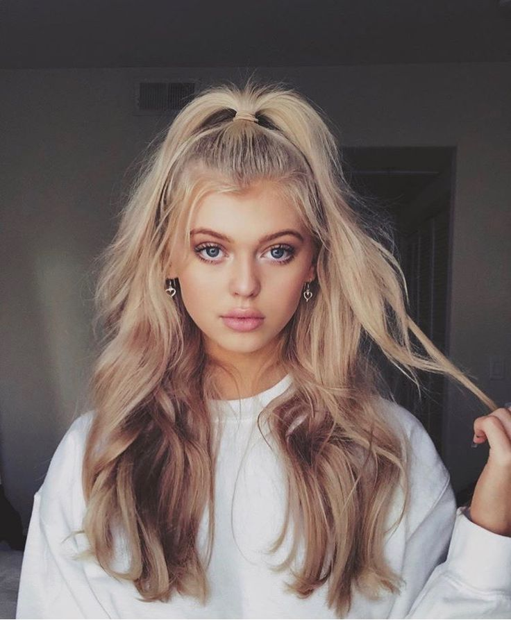 21 Pin Up Hairstyles That Are Hot Right Now: Loren Gray, Hair Styles