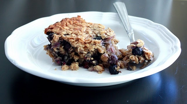 Blueberry Baked Oatmeal | Breakfast/Brunch | Pinterest