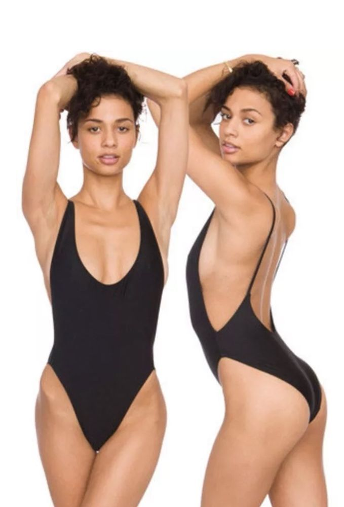bc8f5fea02 American Apparel One Piece Swim Black Sz Small #fashion #clothing #shoes  #accessories #womensclothing #swimwear (ebay link)