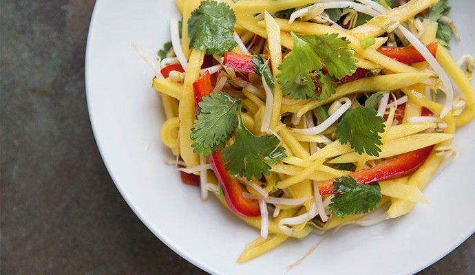 Thai Green Mango Salad | Favorite Recipes | Pinterest