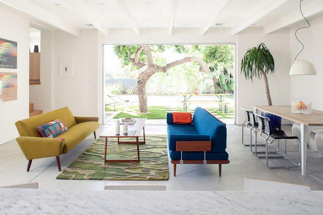 Mike Jacobs aménage une maison dans le pur style californien                                                                                                                                                                                 Plus