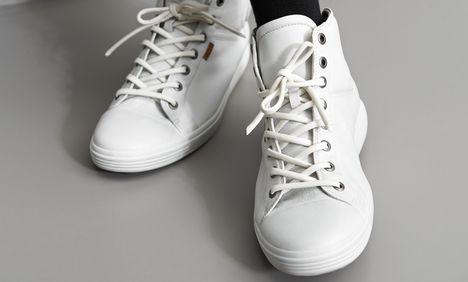 Zo krijg je je sneakers weer stralend wit!