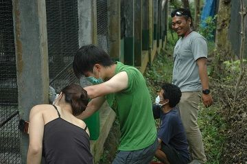 Rescue center visit a moment of truth for conservation students