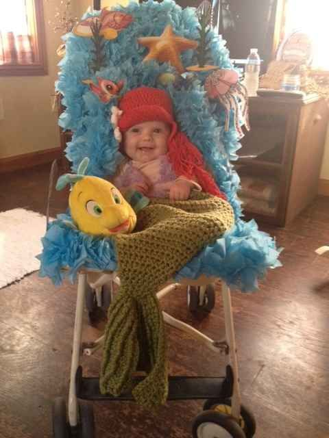 The Cutest Little Mermaid crochet inspiration :)