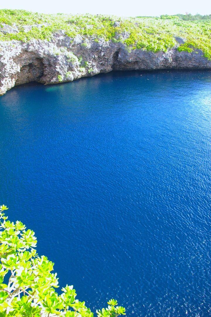 神秘に満ちた国の天然記念物… 下地島「通り池」|沖縄CLIP
