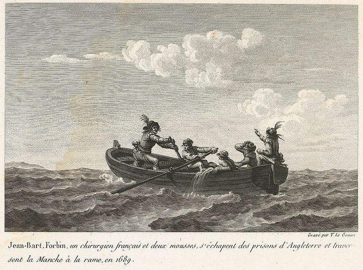 Jean Bart et Forbin s echappant d Angleterre en 1689 - Jean Bart — Wikipédia