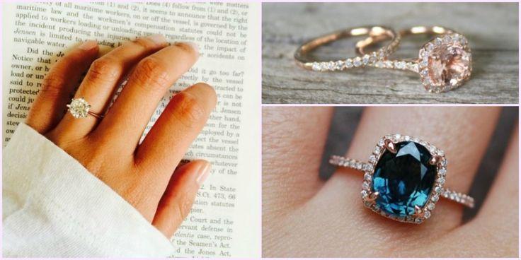 Top 12 legmenőbb eljegyzési gyűrű a Pinterest szerint