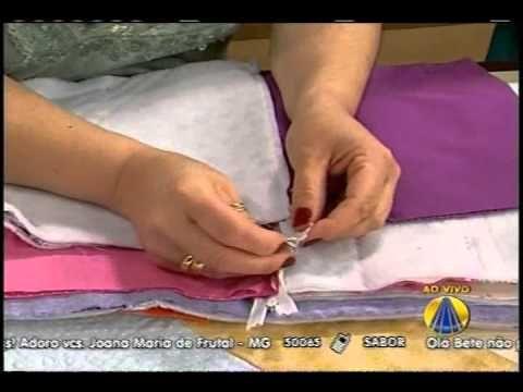 A artesã Santina Reale nos ensina a fazer lindas nécessaires.    Sabor de Vida: de segunda à sexta das 15h05 às 16h50, na Rede Aparecida  2ª exibição de madrugada: das 3h30 às 5h15    REDE APARECIDA  A TV de Nossa Senhora  http://www.A12.com/tv  http://twitter.com/redeaparecida  http://twitter.com/tvaparecida  http://twitter.com/sabordevida  http://faceboo...