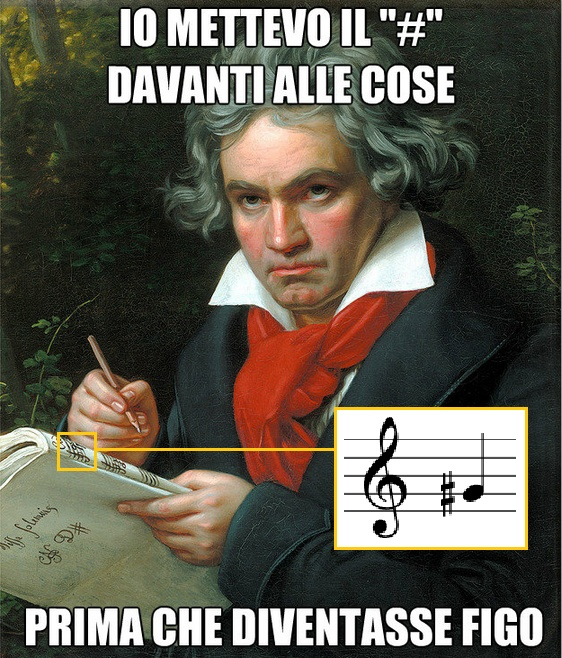 #Beethoven #Hashtags #Music #Musica Check It!