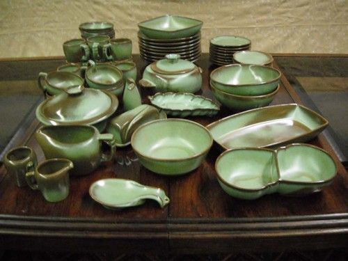"Frankoma Pottery Dinner Ware Set ""Excellent Condition""!!!"